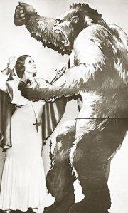 Our hero battles the Gorilla of Evolution